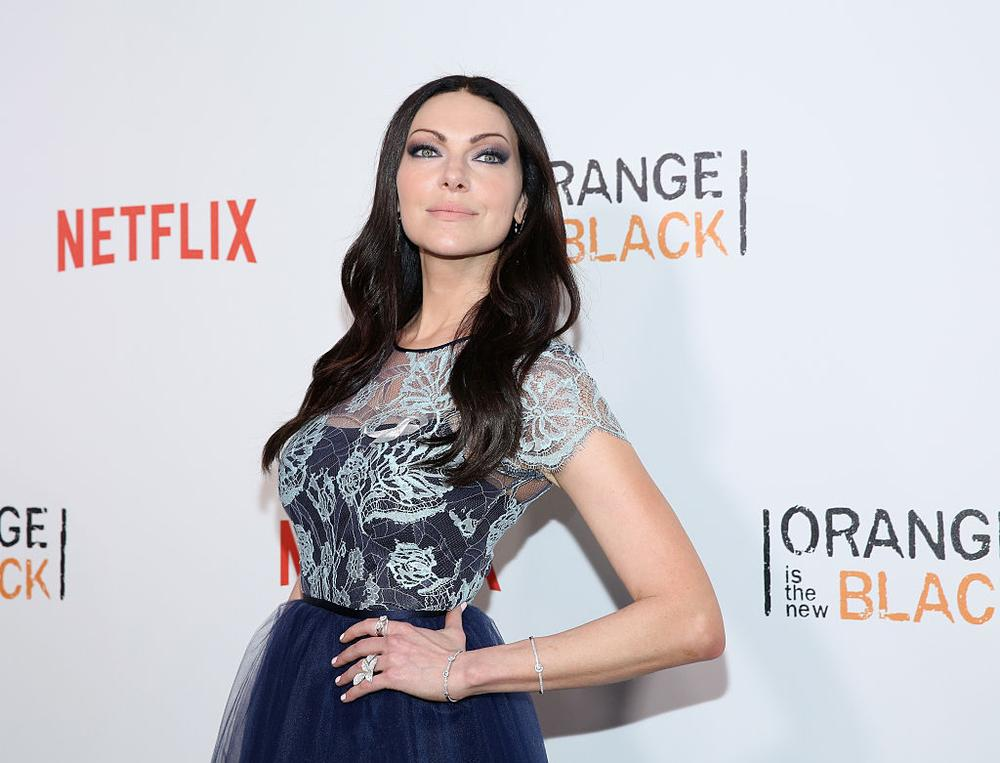 "NEW YORK, NY - JUNE 16: Actress Laura Prepon attends ""Orange Is The New Black"" New York City Premiere at SVA Theater on June 16, 2016 in New York City. (Photo by Robin Marchant/Getty Images)"