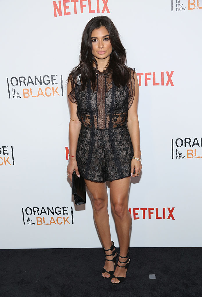 "NEW YORK, NY - JUNE 16: Actress Diane Guerrero attends ""Orange Is The New Black"" New York City Premiere at SVA Theater on June 16, 2016 in New York City. (Photo by Robin Marchant/Getty Images)"
