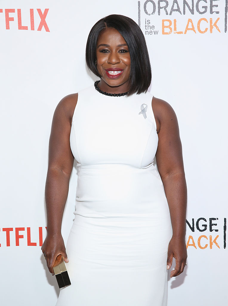 """NEW YORK, NY - JUNE 16: Actress Uzo Aduba attends """"Orange Is The New Black"""" New York City Premiere at SVA Theater on June 16, 2016 in New York City. (Photo by Robin Marchant/Getty Images)"""