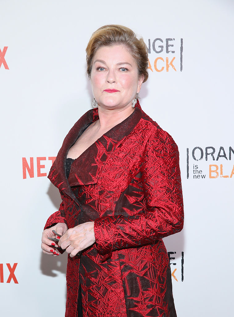 "NEW YORK, NY - JUNE 16: Actress Kate Mulgrew attends ""Orange Is The New Black"" New York City Premiere at SVA Theater on June 16, 2016 in New York City. (Photo by Robin Marchant/Getty Images)"
