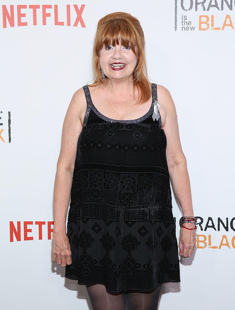 "NEW YORK, NY - JUNE 16: Annie Golden attends ""Orange Is The New Black"" New York City Premiere at SVA Theater on June 16, 2016 in New York City. (Photo by Robin Marchant/Getty Images)"