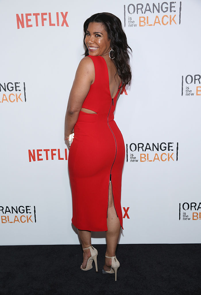 "NEW YORK, NY - JUNE 16: Jessica Pimentel attends ""Orange Is The New Black"" New York City Premiere at SVA Theater on June 16, 2016 in New York City. (Photo by Robin Marchant/Getty Images)"
