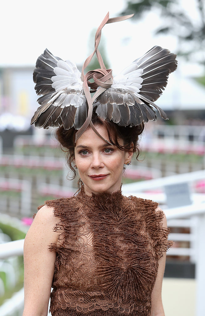 ASCOT, ENGLAND - JUNE 17:  Actress Anna Friel on the fourth day of Royal Ascot at Ascot Racecourse  on June 17, 2016 in Ascot, England.  (Photo by Chris Jackson/Getty Images)