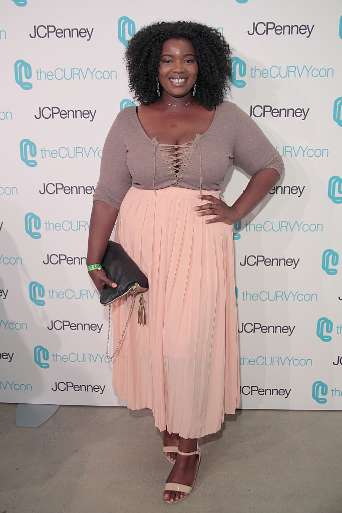 NEW YORK, NY - JUNE 17: Valerie Eguavoen (Fashionacurve) attends TheCurvyCon 2016 at Metropolitan Pavilion West on June 17, 2016 in New York City. (Photo by Randy Brooke/Getty Images)