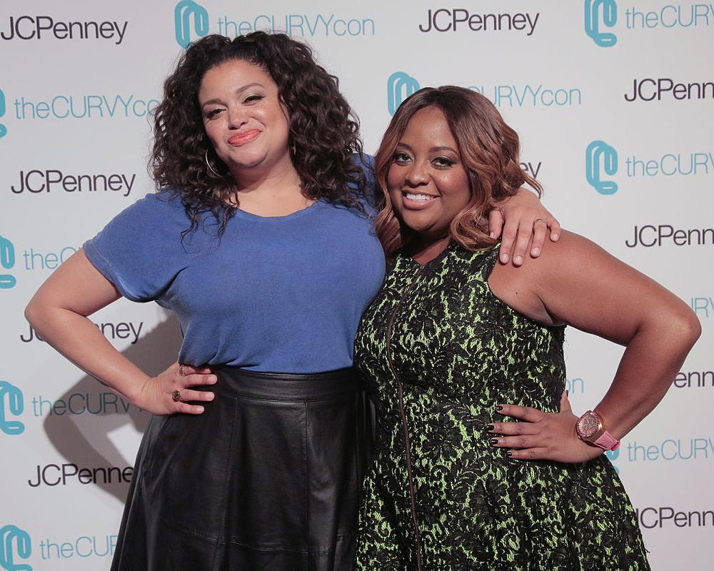 NEW YORK, NY - JUNE 18: Comedian Michelle Buteau and Actress/Comedian Sherri Shepherd attend TheCurvyCon 2016 at Metropolitan Pavilion West on June 18, 2016 in New York City. (Photo by Randy Brooke/Getty Images)