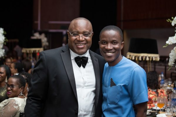 Gabriel Ogbechie with Godman Akinlabi