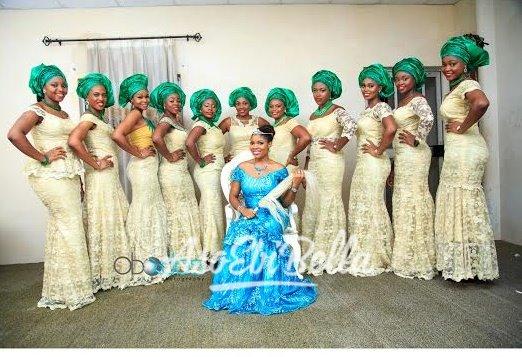 Ifunanya & her bridesmaids
