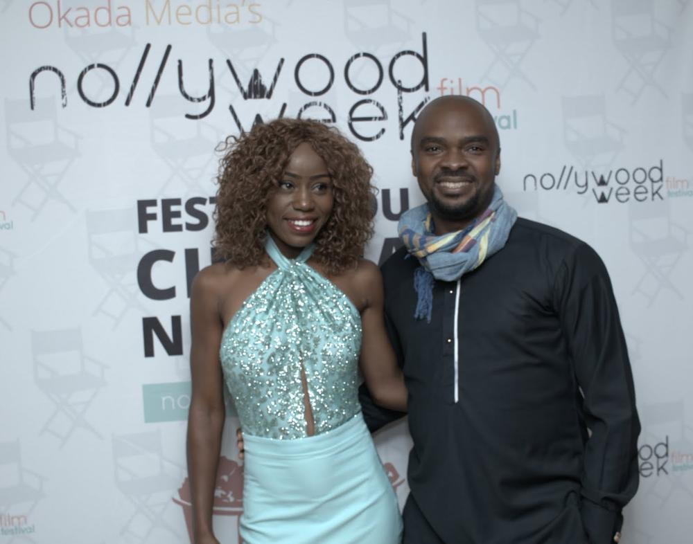 Ijeoma Grace AGU (Actress) - Daniel ORIAHI (director) - Taxi Driver team