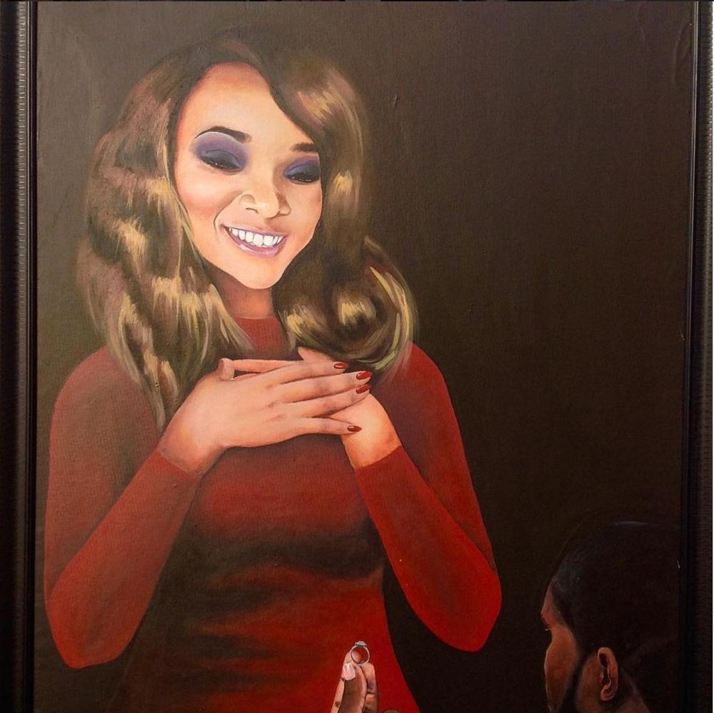 Ilamina and Olise Painting Proposal in Nigeria_bellanaija 2016_3
