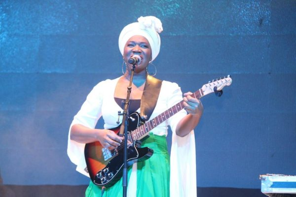India Arie on stage