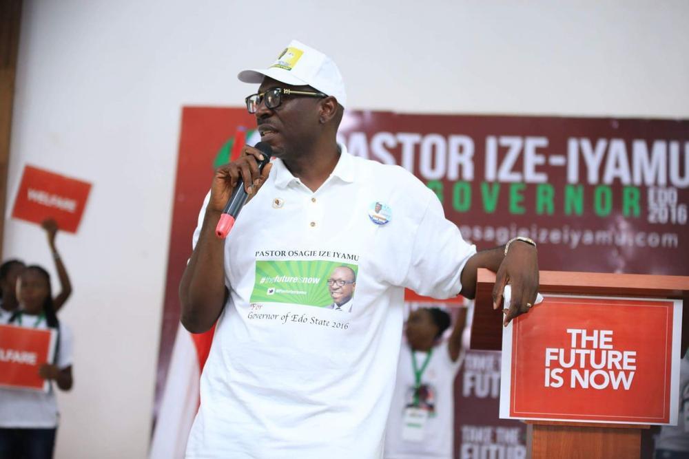 Ize-Iyamu Purchases PDP Nomination Form5