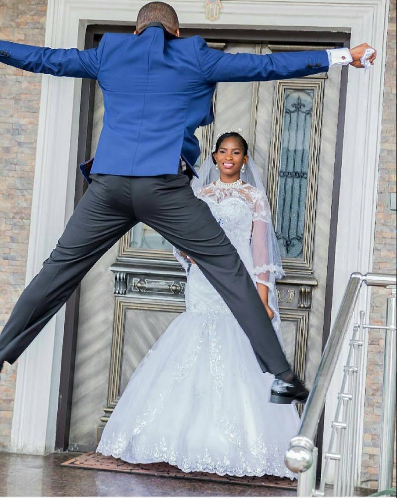 Kalu Ikeagwu and Ijeoma Eze White Wedding_1