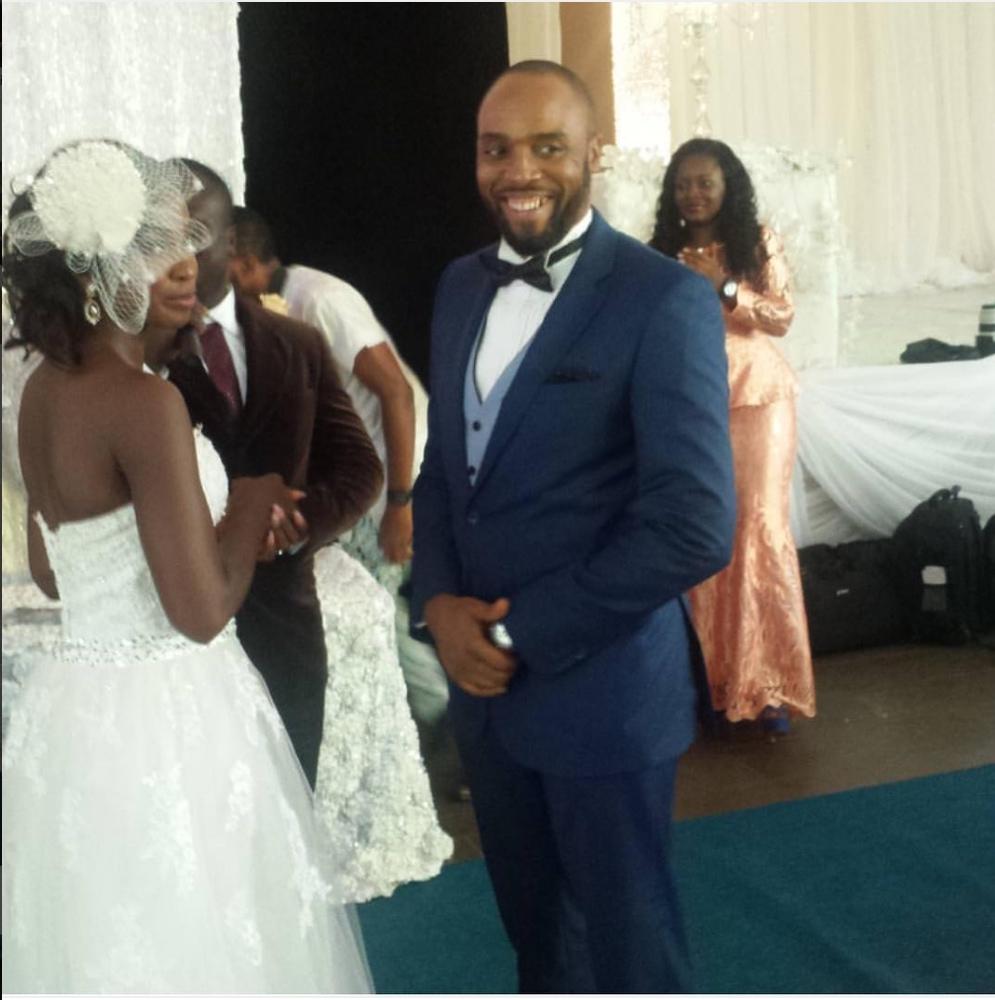 Kalu Ikeagwu and Ijeoma Eze White Wedding_2