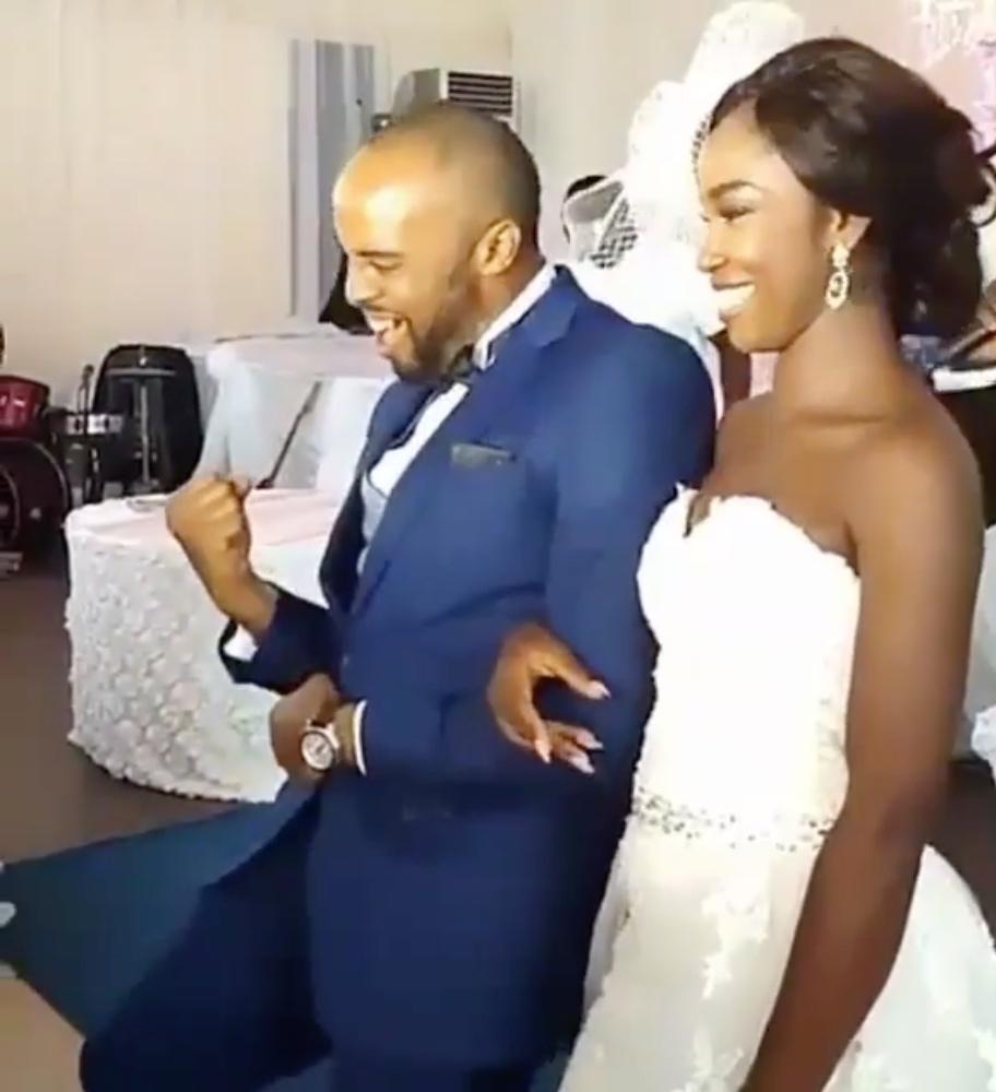 Kalu Ikeagwu and Ijeoma Eze White Wedding_6