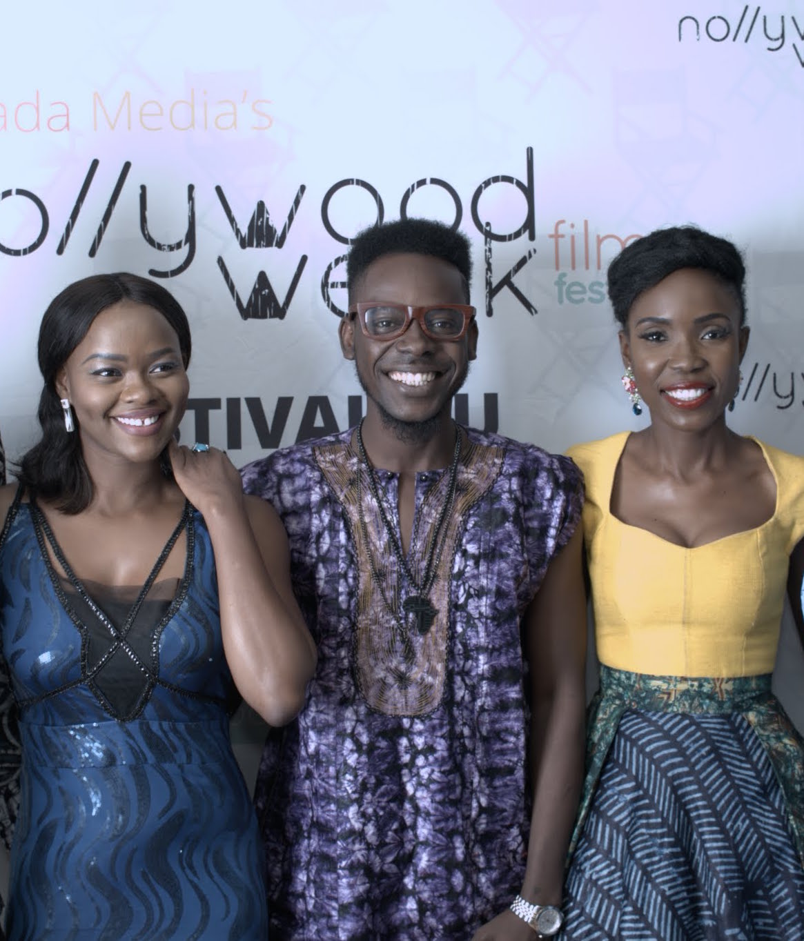 Kehinde BANKOLE (Actress) - Adekunle GOLD (Nigerian Singer) - Lala AKINDOJU (actress - The CEO)