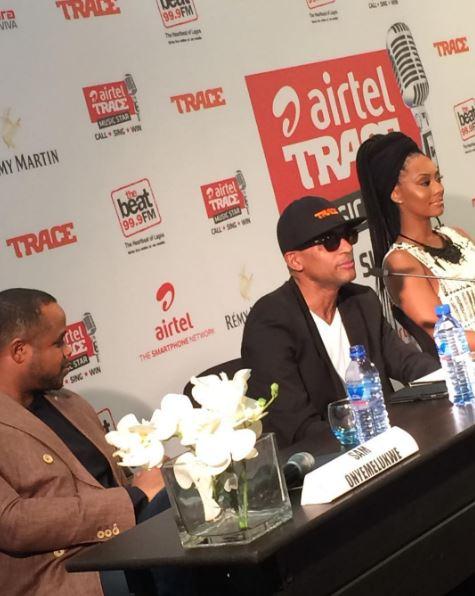 Keri Hilson Airtel Trace Music Star Nigeria (2)