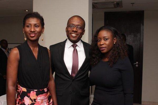L-R Chineze Amanfo, Nneota Egbe and Opeyemi Lawal