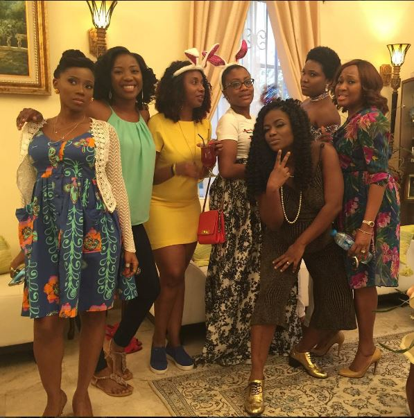 LAmi-Phillips-11 Photos Of Sasha P, Tiwa Savage, Tosyn Bucknor and More At Lami Phillips Baby Shower Entertainment