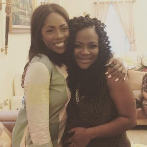 Lami Phillips and Tiwa Savage