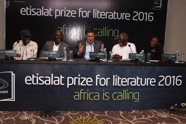 Kole Omotoso,Helon Habila, Matthew Willsher, Dele Olojede and Opeyemi Lawal