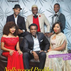 Linda Ejiofor, Ade Bantu, Chioma Onyenwe, Wale Ojo, Olumide Oworu & Ibk Spaceshipboi on the Cover of Vanguard Allure