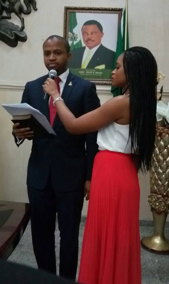 Mark Okoye Swearing in2