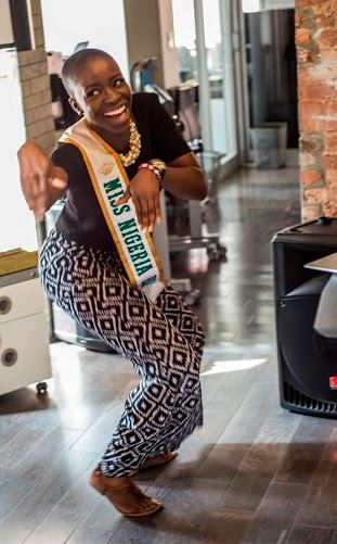 Miss Nigeria USA won the SheHive Shoki Dance Off