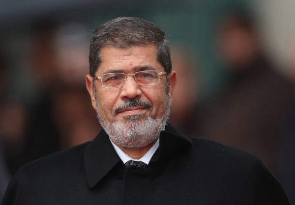 Egypt court upholds life sentence against Morsi