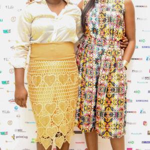 NEW MEDIA CONFERENCE 2016 - AJIBADE OLUWATOSIN WITH VIMBAI MUNITHIRI