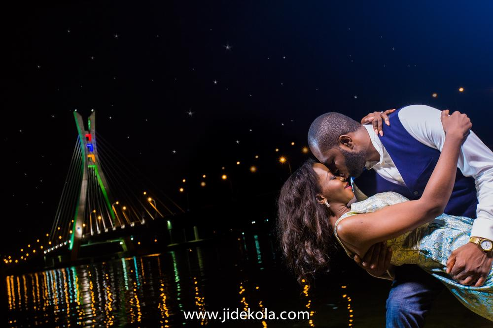 Nafi and Rilwan_Lekki Ikoyi Link Bridge Lagos Pre Wedding Shoot 1