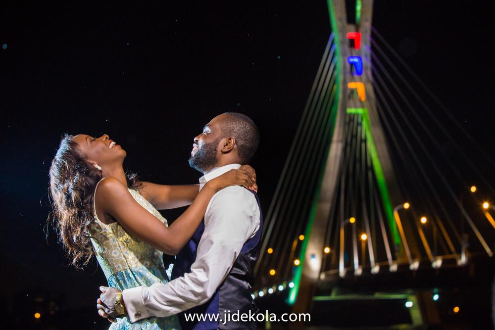 Nafi and Rilwan_Lekki Ikoyi Link Bridge Lagos Pre Wedding Shoot 2