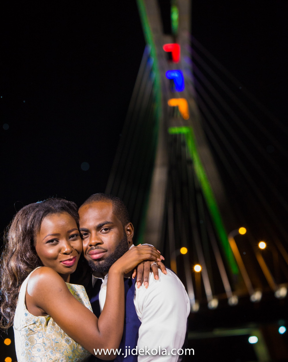 Nafi and Rilwan_Lekki Ikoyi Link Bridge Lagos Pre Wedding Shoot 3