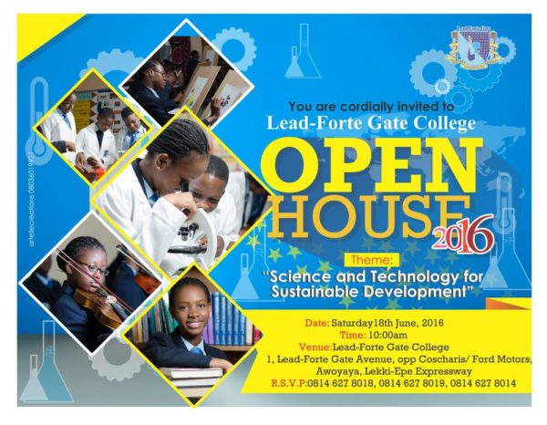 New Open House invitation