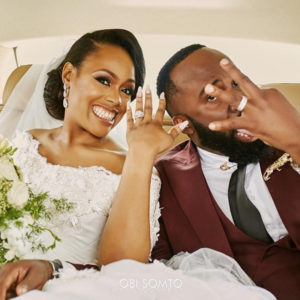 Noble Igwe and Chioma Otisi Wedding
