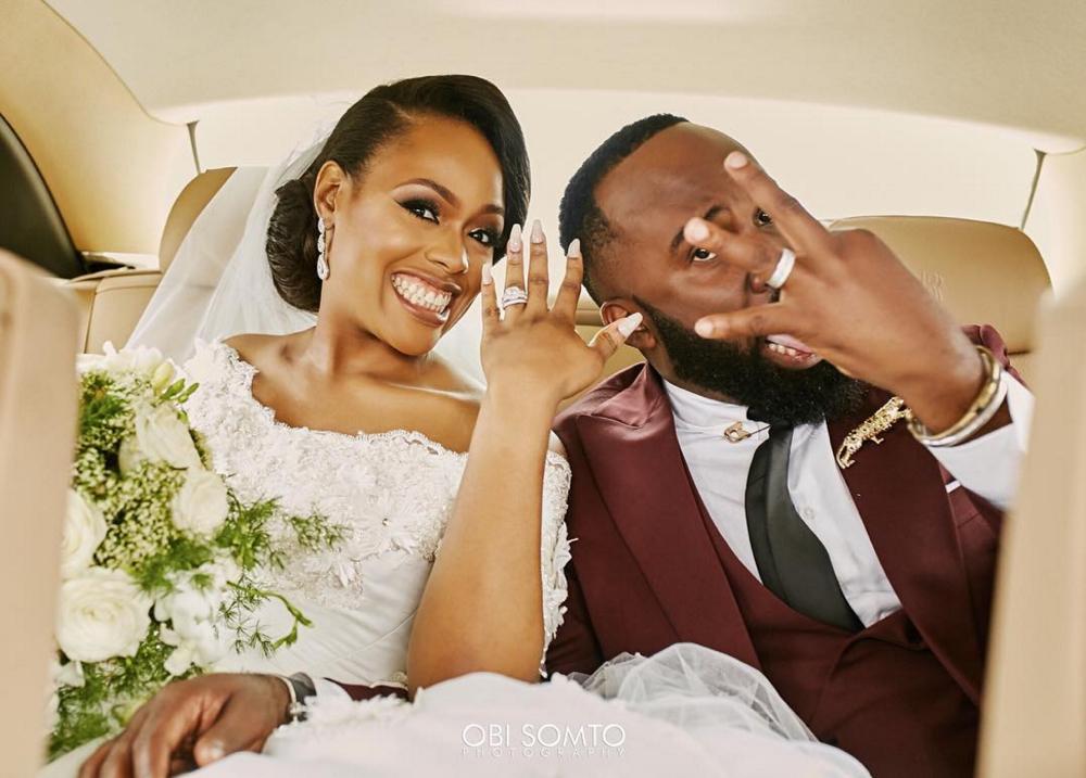 Noble Igwe and Chioma Otisi Wedding