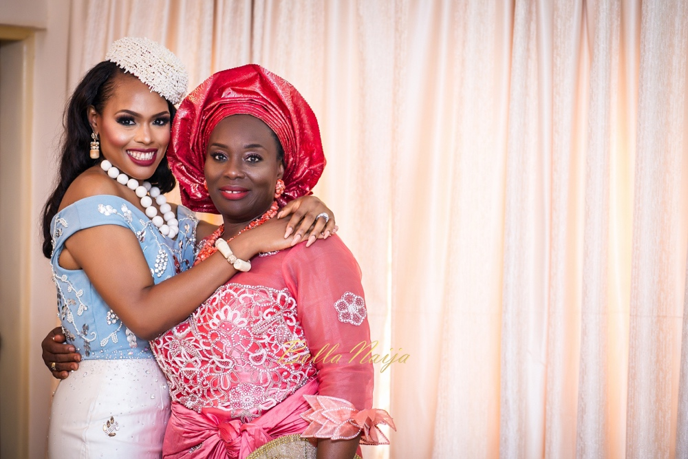 My baby is getting married! Chioma and Her Mother
