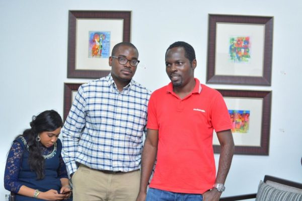 Obafunso Adenekan & Exhibiting Artist, Tolu Aiki