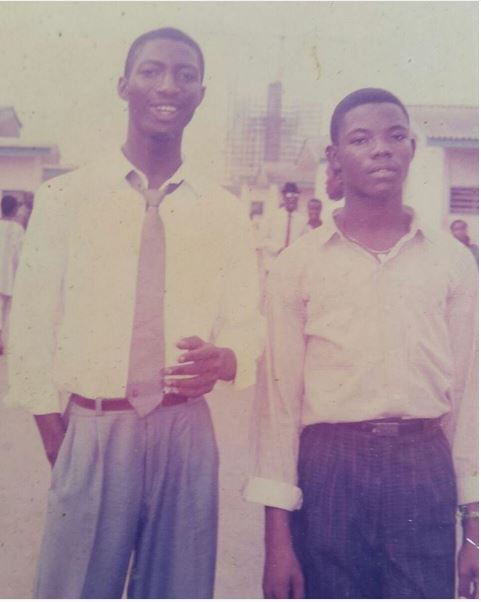 Okey Bakassi in his first year at Rivers State University of Science & Technology