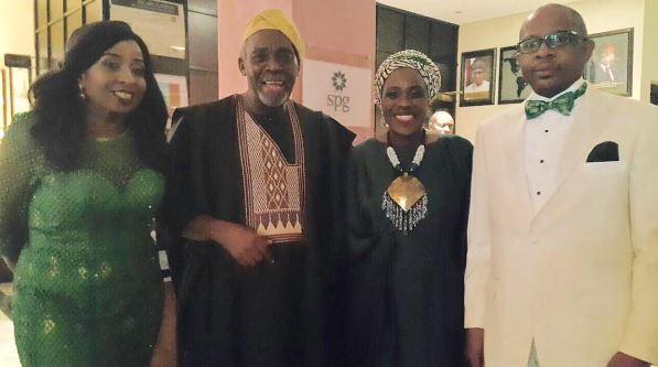 Peace Anyam-Osigwe, Olu Jacobs, Joke Silva