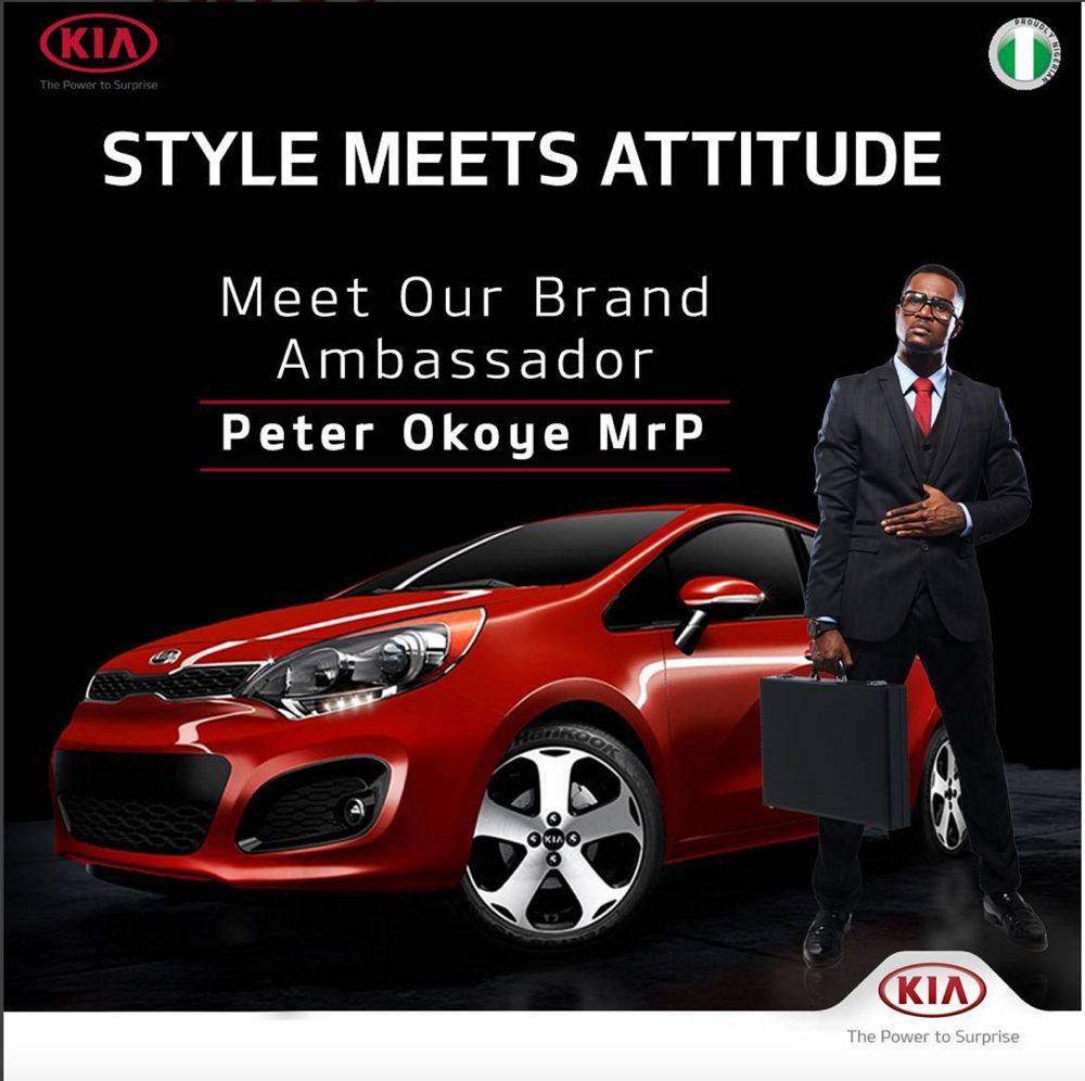 Peter Okoye of PSquare_Kia Motors Nigeria__1