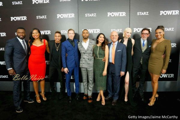 Curtis Jackson, Courtney A. Kemp, Rotimi, Joseph Sikora, Omari Hardwick, Lela Loren, Chris Albrecht, Lucy Walters, Mark Canton and La La Anthony