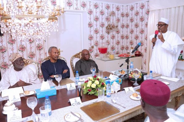 President Buhari Hosts Members of Judiciary1