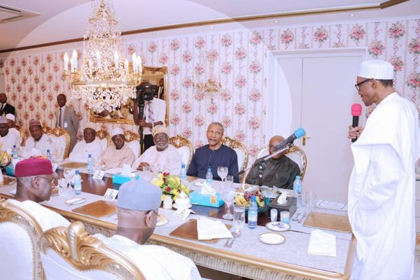 President Buhari Hosts Members of Judiciary2