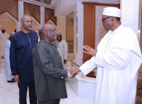 President Buhari Hosts Members of Judiciary6