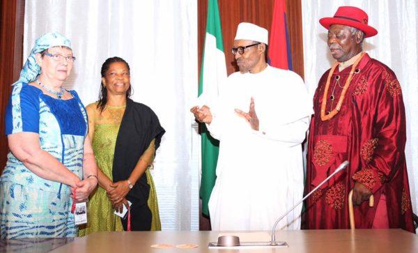 President Buhari Meets Niger Delta Leaders1
