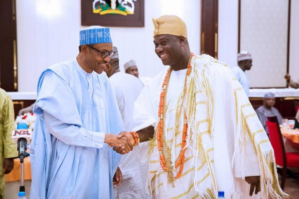 President Buhari hosts traditional rulers4