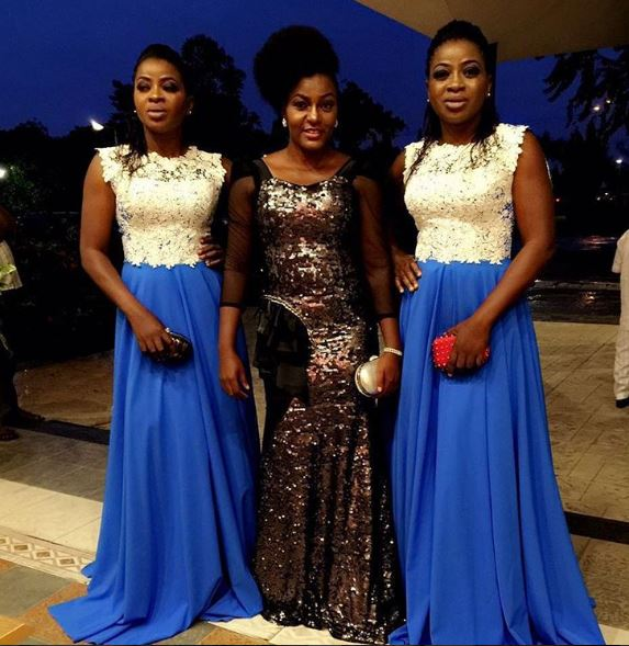 Queen Nwokoye and the Aneke twins