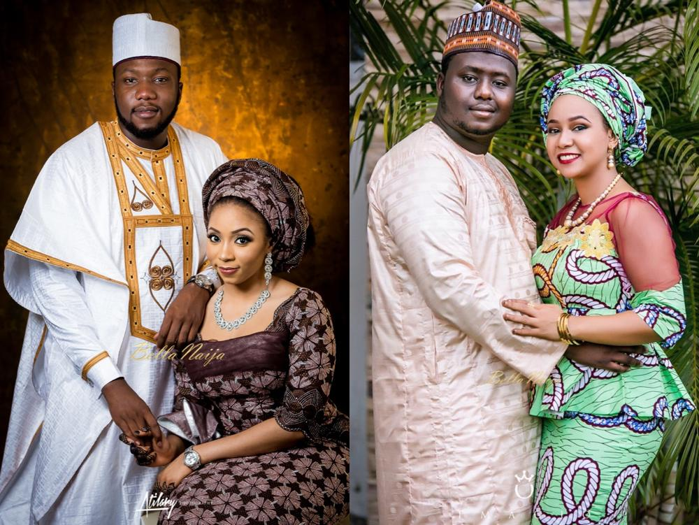 Rabi and Abdullahi_Amne and Ahmed_Double Wedding_Bala Mohammed_BellaNaija Weddings_2016_