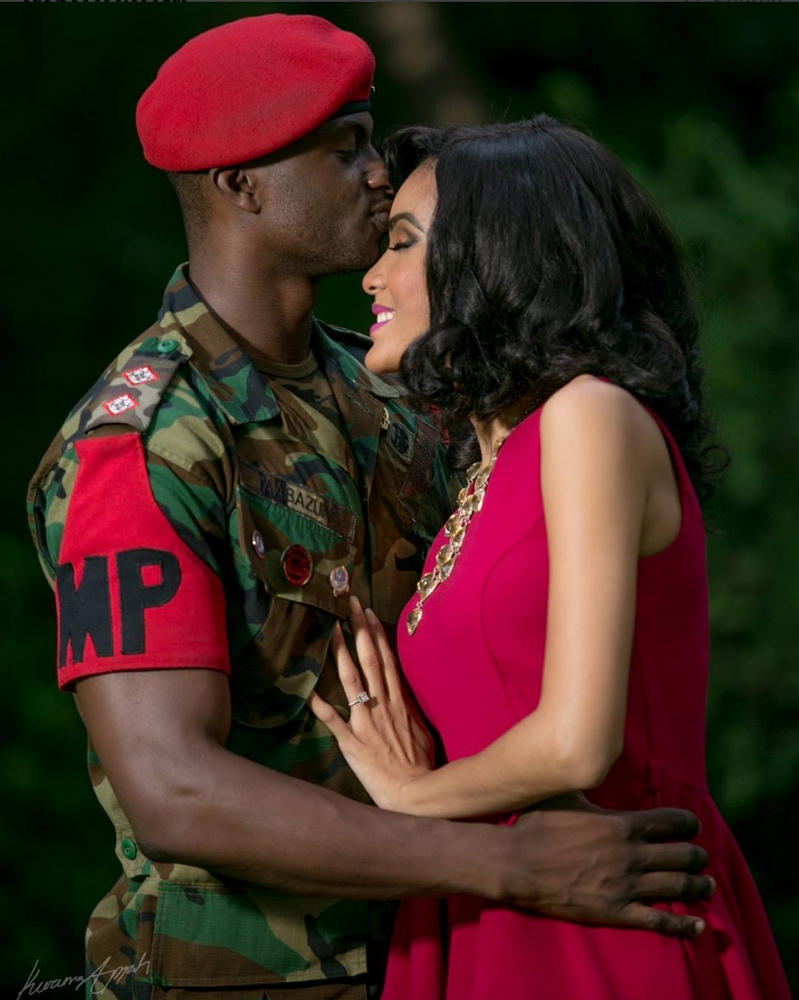 Sonia Ibrahim and Collins Pre Wedding