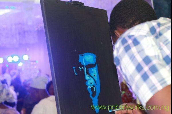 Speed painting Engineer Adams Okoene